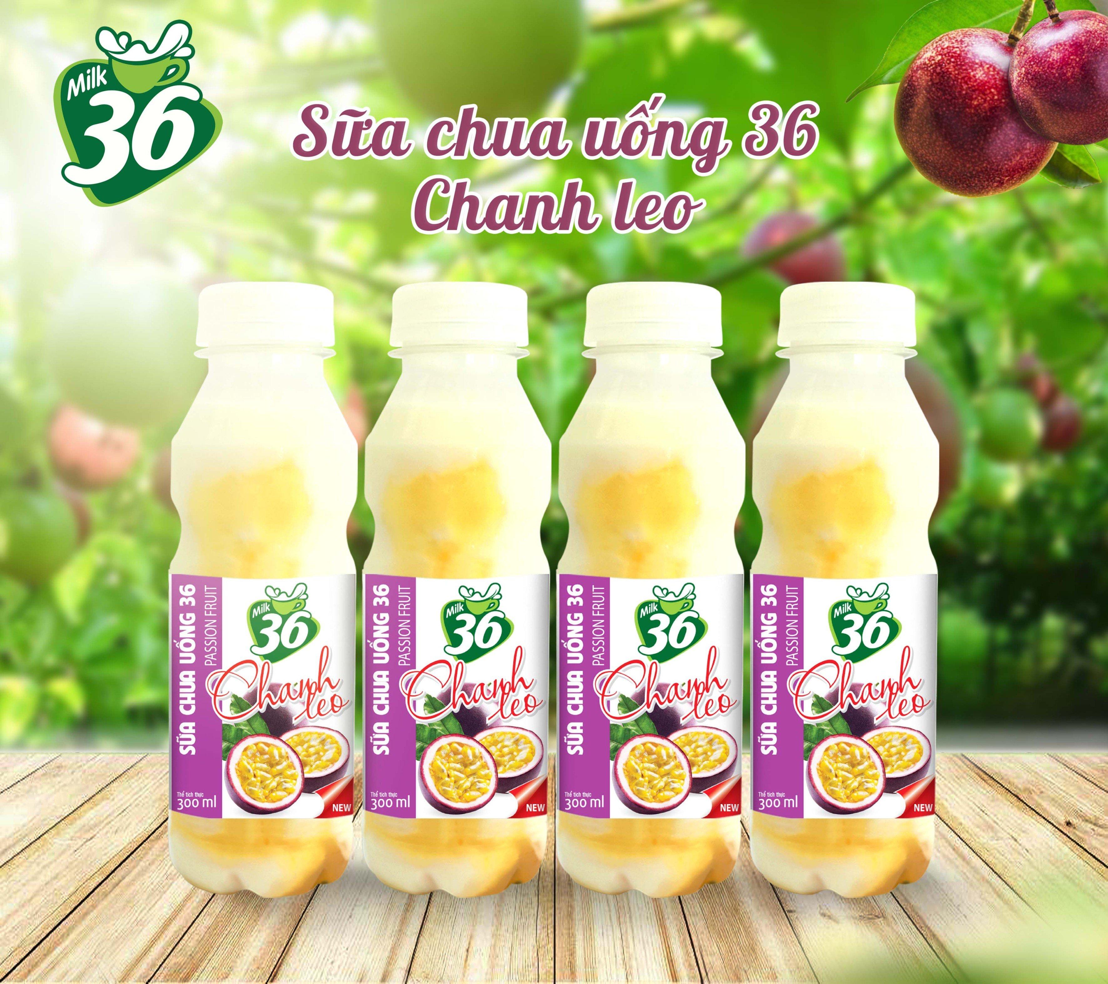 Sữa chua uống 36 chanh leo