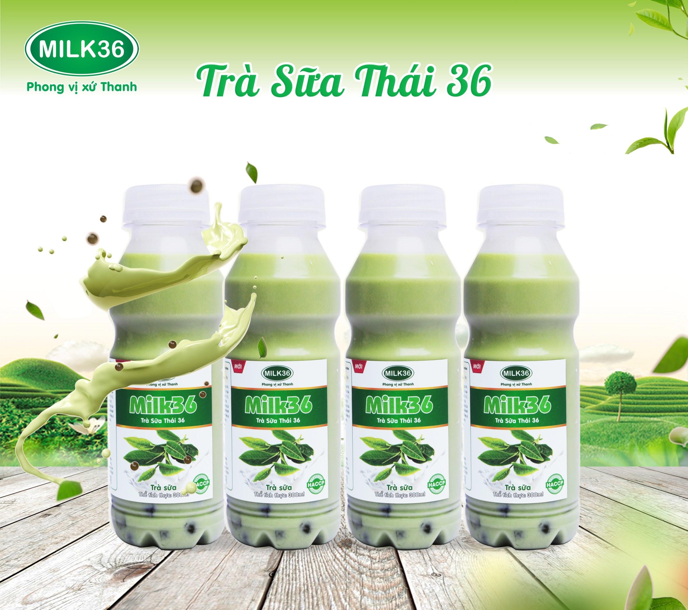 Trà Sữa Thái 36 mới